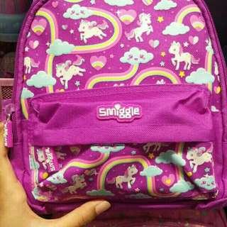 Smiggle backpack unicorn