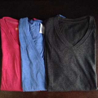 3 for P225 Men's Shirt Uniqlo, Topman, Bench