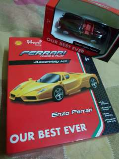 Shell Ferrari Toy Car Collectibles
