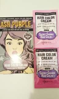 Mediheal Korean bleach hair color cream ash韓國漂染髮劑
