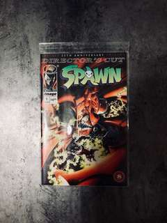 Spawn 25th Anniversary Re-issue #1 Director Cut's edition
