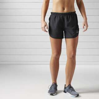 REEBOK RUNNING ESSENTIALS 4in1 SHORT, Black, Women.BJ9994. 100%Original