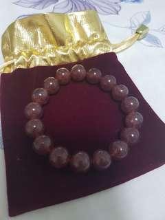 🍓草莓水晶手链Crystal Bracelet