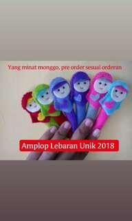 Pre Order Amplop Lebaran