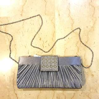 BN Evening sling /clutch bag with crystals