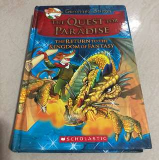Geronimo Stilton -The Quest for Paradise