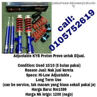 Adjustable Preve Hi-Lo