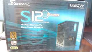Brand new Seasonic S12 620W Power Supply