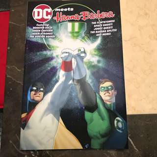 DC meets Hanna Barbera Trade Paperback