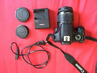 Canon 1200D with lens ,16gb memory card etc.