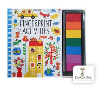 Usborne Activity book - Fingerprint activities (Art)