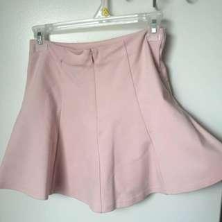 Pastel Pink Circle Skirt
