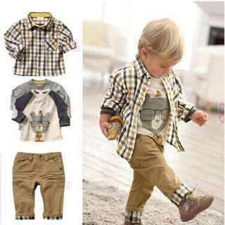 Romoe 3-in-1 Baby Clothes Boy