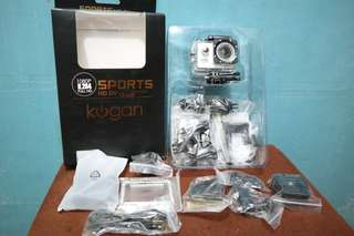 Action Camera Kogan - Full HD 1080p - Non Wifi 12MP Like Go Pro