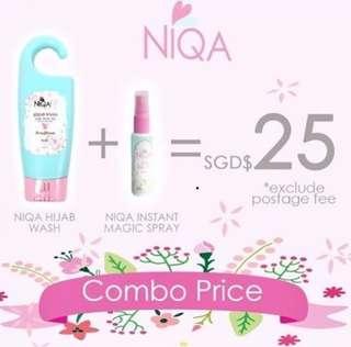 Niqa Wash + Spray Set