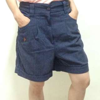 Blue Denim Shorts - 30""