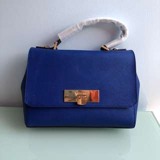 #In Stock# Michael Kors Callie electronic blue