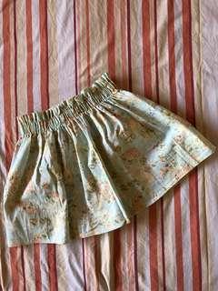 Preloved Floral Mini Skirt