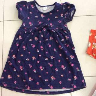 Baby blue dress with tiny flowers #20under