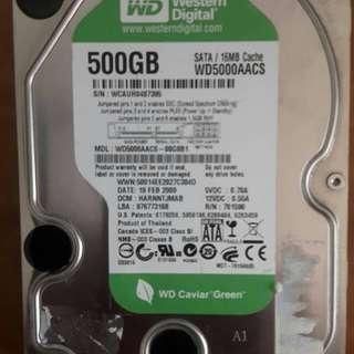 🚚 筆記型硬碟250GB和桌上型硬碟WD 500GB