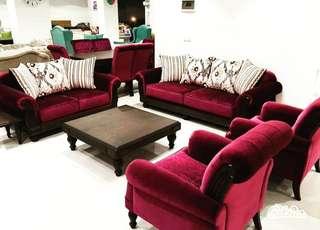 Sofa Romawi Set Italian