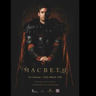 [Rent-A-Movie] MACBETH (2018)