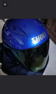 Shoei jstream royal blue