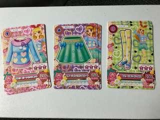星夢學園遊戲卡 第3季第2彈 N卡 套裝E
