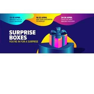 Lazada x Mentholatum Surprise Box