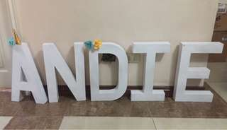 1.5ft Letter Standee