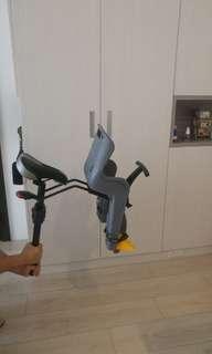 腳踏車可拆式兒童坐椅