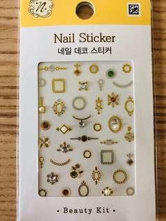 全新 韓國 指甲貼 Korea Nail Stickers
