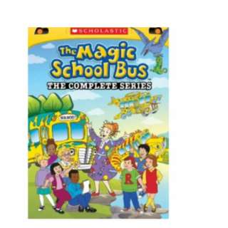 The Magic School Bus The Complete Series DVD Set