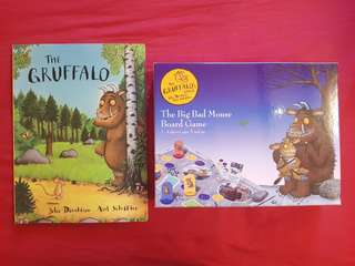 The Gruffalo book & board game set