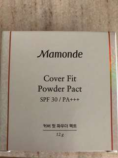 BN Mamonde Cover Fit Powder Pact (23 Sand Beige)