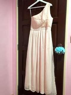 Zalora maxi bridesmaid dress