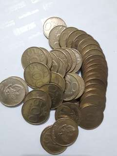 Uang koin 500 melati