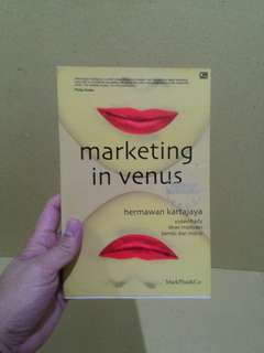 Buku MARKETING IN VENUS - HERMAWAN KERTAJAYA