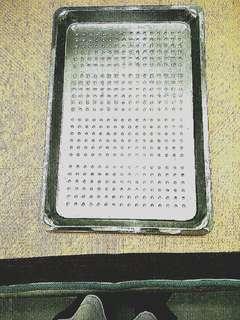 瀝油水💧透氣  不銹鋼  長方型盤