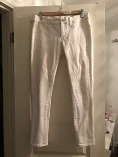 Juicy Couture Skinny White Jeans