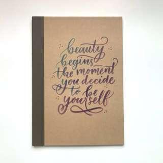 Custom A5 Notebook #20Under
