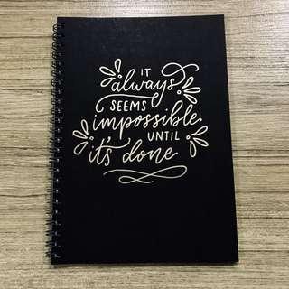 Custom Notebook #20Under