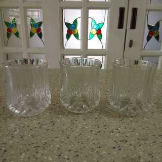 3 Drinking Glass