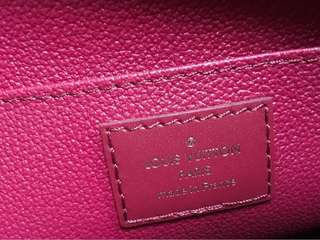 LV Clutch - Pink