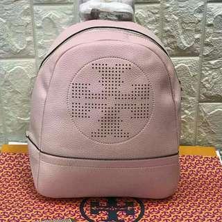 FREE SHIP Tory Burch Backpack back pack bag for school -light pink
