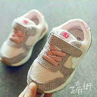 New style small children's breathable girls shoes small children's sports shoes