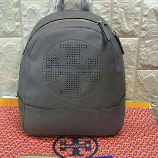 FREE SHIP Tory Burch Backpack back pack bag for school -gray