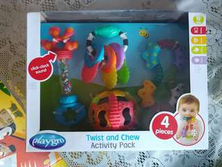 Baby Toys : Twist & Chew Activity Pack