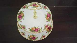 Royal Albert 2 Tier Cake Stand