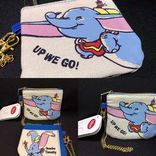 日本迪士尼 小飛象Dumbo 散子包 連八達通套